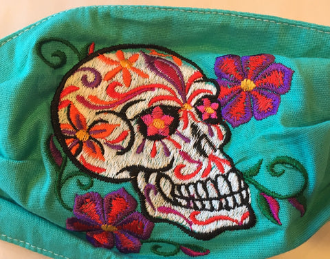 Mexican Protective Face Masks: Sugar Skull