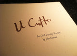 U Cutto: An Old Family Recipe by John Cutrone