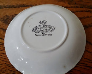 Swinnertons Royal Wessex (England) Small Fine Bone China Ring Dish