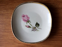 Load image into Gallery viewer, Vintage Alka Kunst Bavaria Ring/Pin/Soap/Trinket Dish Red Roses Design