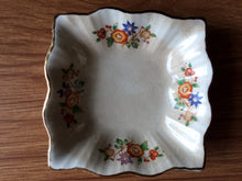 Load image into Gallery viewer, Small Square Vintage Ring/Pin/Butter or Jam Dish Made in England