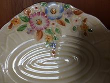 Load image into Gallery viewer, Vintage Crown Devon Garden Path Pattern Ring/Pin/Butter Dish