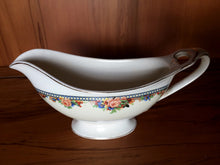 Load image into Gallery viewer, J G Meakin Art Deco Vintage Gravy Boat with Roses