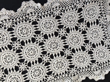 Load image into Gallery viewer, Vintage White Crocheted Cotton Lace Doily/Placemat