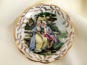 "Vintage James Kent Longton ""Romance Series"" Ring/Pin/Soap Dish"