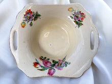 Load image into Gallery viewer, A J Wilkinson Honeyglaze Small Porcelain Candy Bowl with Handles