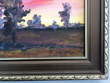 Load image into Gallery viewer, Framed Original Vintage Painting. Landscape Painting in Decorative Gilded Frame