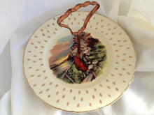 Load image into Gallery viewer, A J Wilkinson Honeyglaze One Tier Vintage Cake Plate with Rural Scene