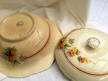 Load image into Gallery viewer, Royal Winton Vintage Ceramic Vegetable Serving Bowl with Lid