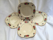 "Load image into Gallery viewer, J & G Meakin ""Cambria"" Pattern Set of 4 Vintage Bread and Butter Plates"