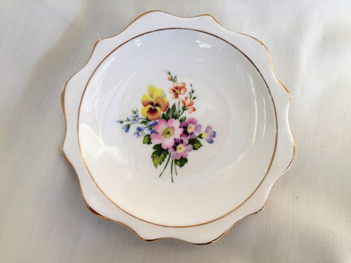 Royal Albert Fine Bone China Ring Dish/Butter/Jam Dish