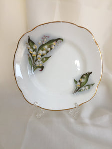 Duchess (UK) Lily of the Valley Pattern Dessert or Bread/Butter Plate