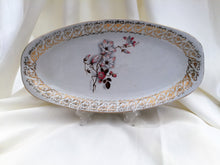 "Load image into Gallery viewer, Hostess British Anchor 12"" Oval Serving Platter Pattern No 6686"