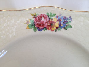 "J & G Meakin ""Cambria"" Pattern Set of 4 Vintage Bread and Butter Plates"