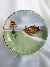 Load image into Gallery viewer, Royal Doulton Hand Painted Small Ring or Pin Dish Farmhouse Pattern