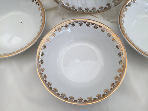 Alfred Meakin 4 Small Vintage Dessert Bowls/Butter/Jam Dishes