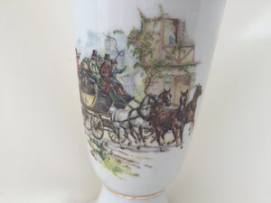 Vintage French Porcelain Chalice by P. Dussault