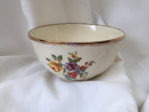 "Creampetal Grindley Vintage English Porcelain 5"" Sugar or Snack Bowl"