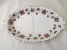 "Load image into Gallery viewer, Royal Albert ""Sweet Violets"" Vintage Oval Candy or Snack Bowl/Dish"