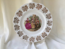 "Load image into Gallery viewer, Royal Albert Fragonard Collectible 9"" Square Dinner or Cake Plate"
