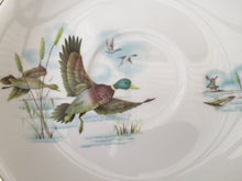 Load image into Gallery viewer, Vintage Alfred Meakin Mallard Duck Pattern Glo White Orphan Saucer