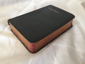 Common Prayer Book Collectible 1938 Edition by M Caldwell Bookbinders with Gilt Edged Pages