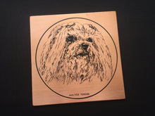 "Load image into Gallery viewer, Vintage Copper ""Maltese Terrier"" Dog Portrait Retro Wall Decor"