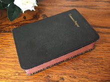 Load image into Gallery viewer, Common Prayer Book Collectible 1938 Edition by M Caldwell Bookbinders with Gilt Edged Pages