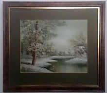 Load image into Gallery viewer, Vintage Landscape Oil Painting