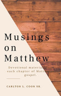 Musings on Matthew Devotional (PDF)