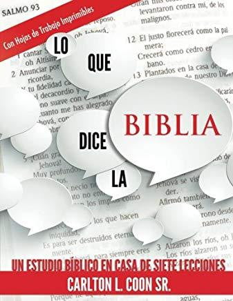 Lo Que Dice la Biblia-book-Christian Church Growth