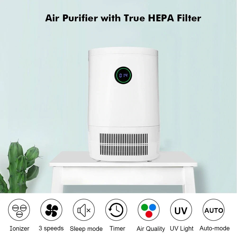 SMART Room Air Purifier - HEPA with Active Air Quality Monitor