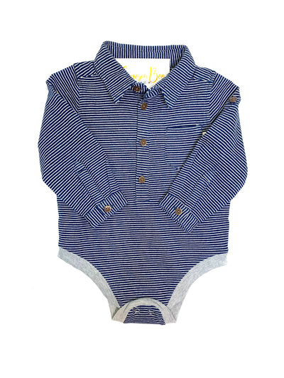 Jace Striped Onesie