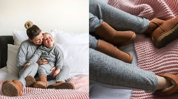 Matching Your Ugg Boots With Your Kids!