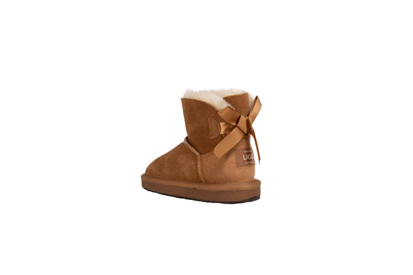 Kids Bow Ugg Boot