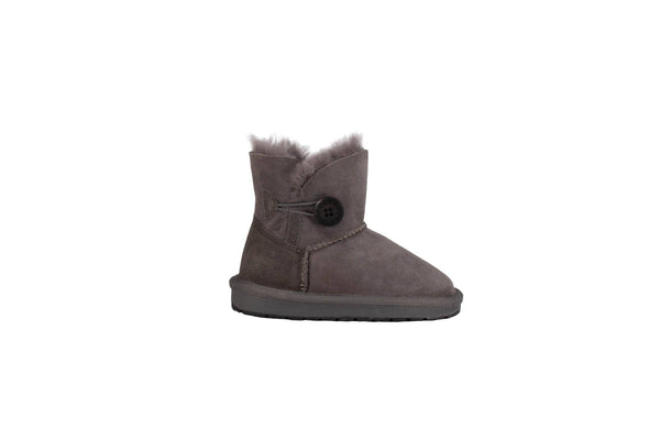 Kids Button Ugg Boot