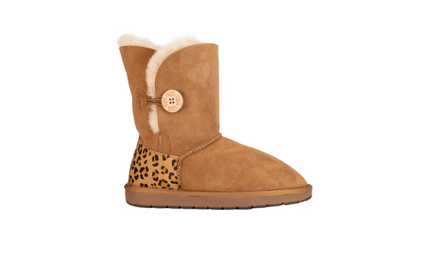 Short Button Calf Uggs