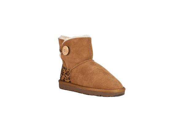 Calf Mini Button Uggs
