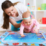 Tummy Time Water Play Mat,Baby Tummy Time Mat, BPA Free Nontoxic Baby Play Mat as Baby Toys 6 to 12 Months,Inflatable Leakproof Water Baby Activity Mat for Indoor-Outdoor Parent-Child Time