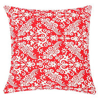 TAOSON Light Blue Moroccan Quatrefoil Accent Pattern Cushion Cover Pillow Cover Pillowcase Cotton Canvas Pillow Sofa Throw White Printed with Hidden Zipper Closure Only Cover 18x18 Inch 45x45cm