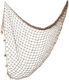 WINOMO Decorative Fishing Net Decor Natural Fish Net Party Decoration Fish Net Decoration for Wall Home Decoration Photographing Accessory, 80x40 inch