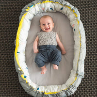 Taf Toys Take Along Thick and Padded Newborn Cozy Mat for Indoors and Outdoors, Easily Folded for Newborn and Up. Create a Safe and Cozy Environment for Babies