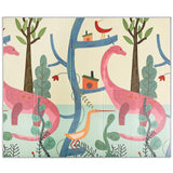 Superjare Folding Baby Play Mat, 0.6 Inch Thick Reversible Portable Foam Playmat, Unisex Playroom & Nursery Mat for Infants, Toddlers & Kids, 77.5 Inches x 69.6 Inches