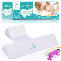 Soft Baby Sleep Pillow (White)