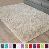 PAGISOFE Soft Comfy White Area Rugs for Bedroom Living Room Fluffy Shag Fur Carpet for Kids Nursery Plush Shaggy Rug Fuzzy Decorative Floor Rugs Contemporary Luxury Large Accent Rug 4' x 5',(White)