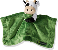 John Deere Baby Cuddle Snuggle Security Blanket Boy Girl Farm Animal Cow Pig Chick