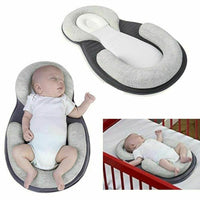 Portable Baby Crib Nursery Travel Folding Baby Bed Bag Infant Anti-vomiting Pillow Sleep Positioning Wedge Anti-Reflux Cushion