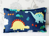 1 Piece Infant Pillowcase 30x50cm 100% Cotton Baby Pillow Cover Cartoon Bedding Replace Anti-dirty Pillow Cases For Kids Toddler