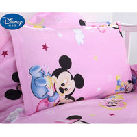 Disney Mickey Minnie Cotton Pillow case Red Cute Cushion case Children baby girl Pillow Cover Decorative Pillows Case