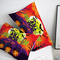 Cartoon Pillow Case Pillowcase Custom/50x70/50x75/50x80 Decorative Pillow Cover for Kids/baby/children,Happy Halloween Yello